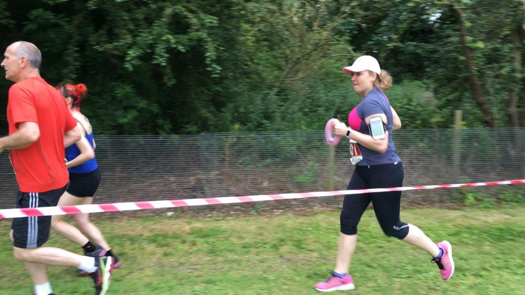 Můj první závod na deset mil (16km)