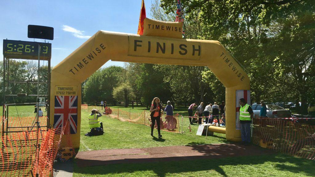 Můj první maraton