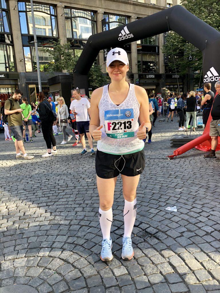 Fotografie z pražského maratonu