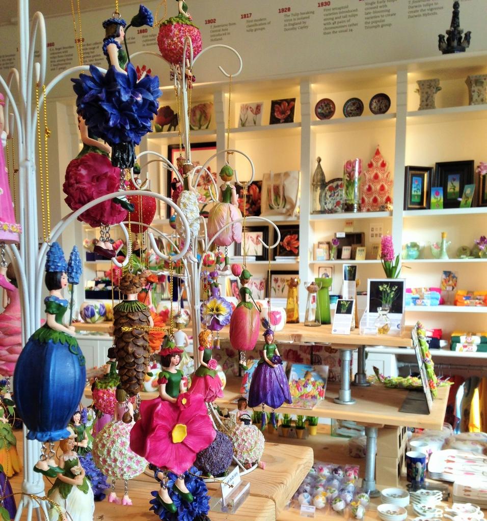 Museum tulip shop